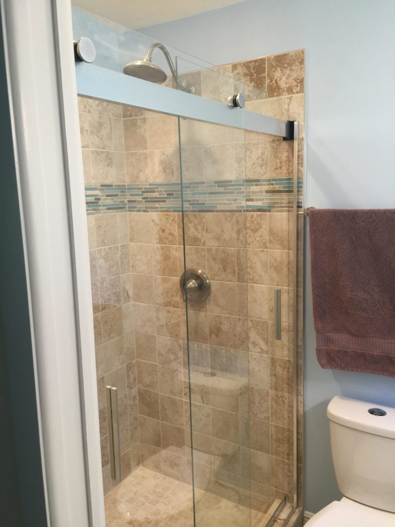 Bathroom Tile | Shower Stall | Remodeling | Sunset Builders & Maintenance
