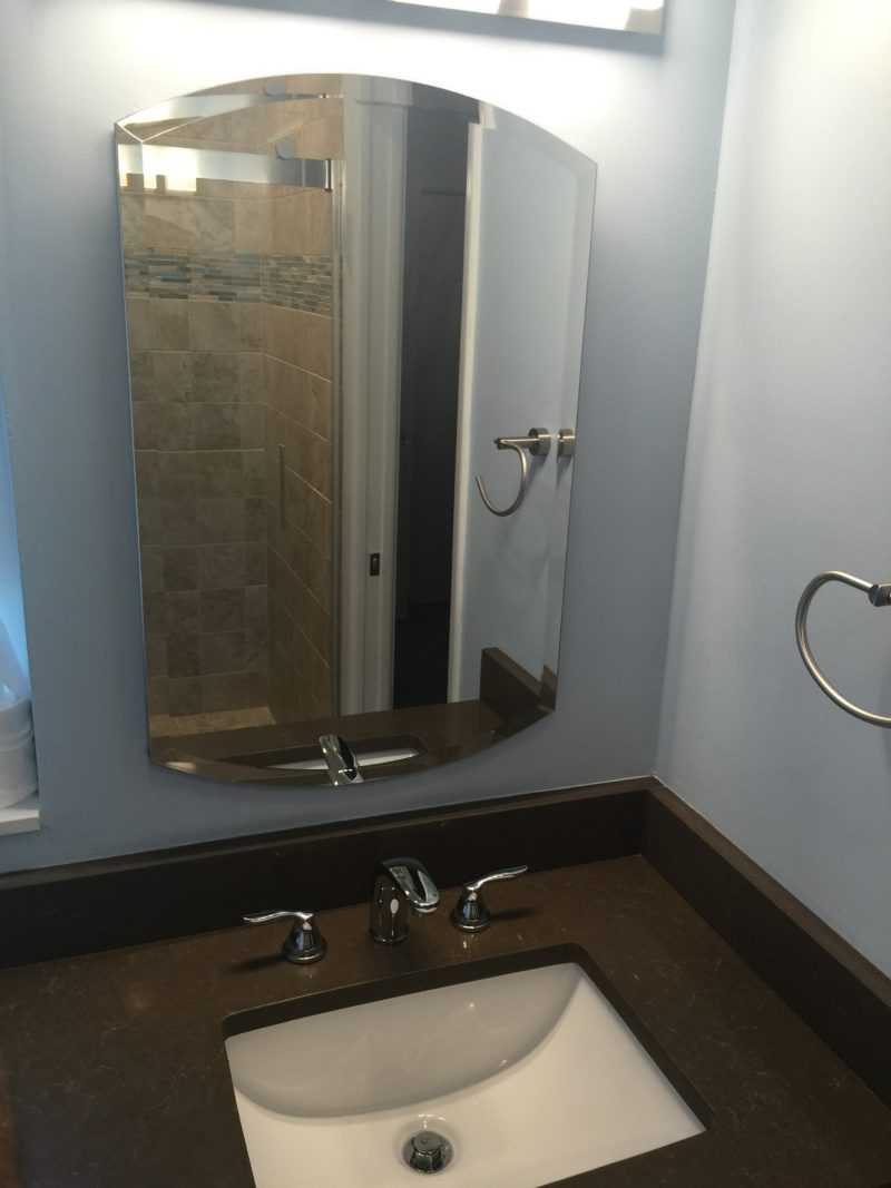 Bathroom  | Remodeling | | New Sink | Sunset Builders & Maintenance