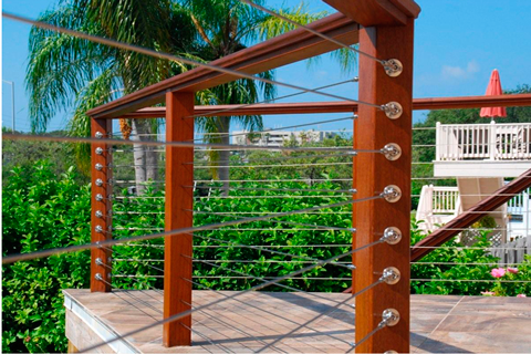 New Deck | Cable Railing System | Sunset Builders in Southwest Florida