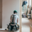 Contractor Working on Home | Residential Remodeling